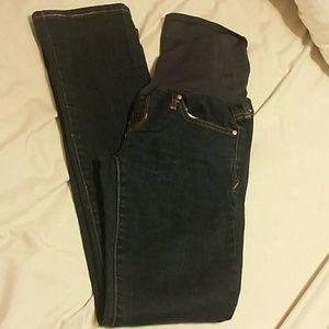 Gap Maternity full panel jeans